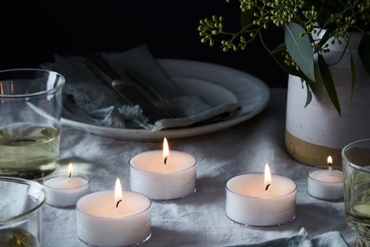Oversized Candle Tea Lights
