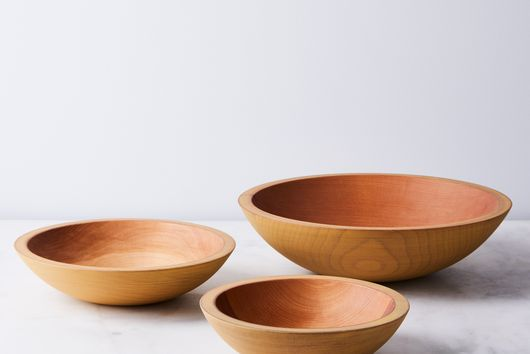 Handcrafted Painted Wooden Bowl