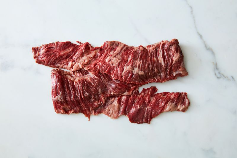Skirt steak. Photo by James Ransom