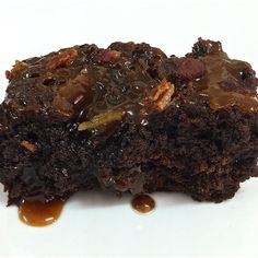 Brownies with Bacon Caramel