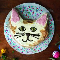 Chocolate Chip Zucchini Cat Cake