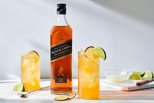 Tea & Whisky Highball From Johnnie Walker