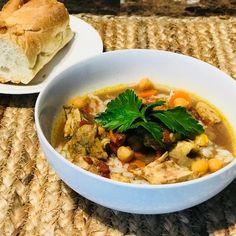 Crock Pot Moroccan Chicken & Coconut Rice