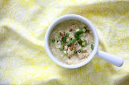 Filipino Chicken Porridge (Arroz Caldo)
