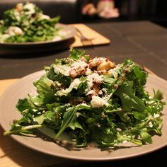 Arugula and Candied Walnut Salad