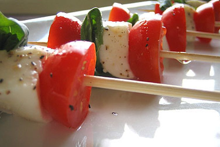 Skewered Insalata Caprese