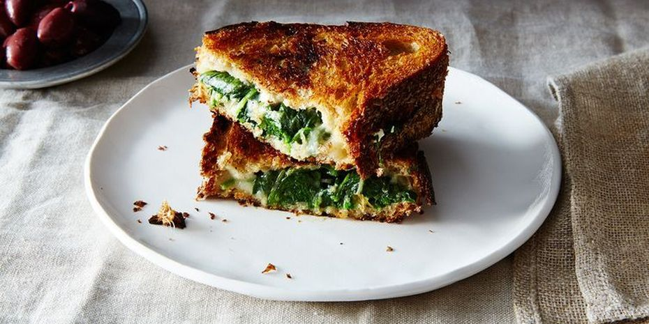 Turn spanakopita into a sandwich and thank yourself again and again