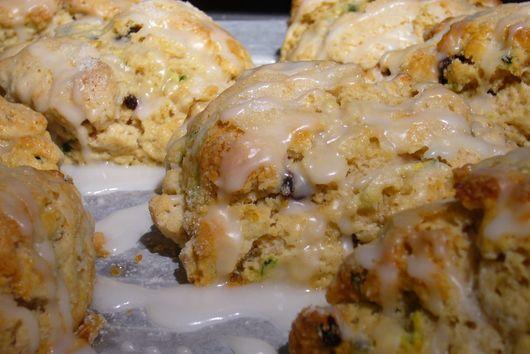 Zucchini-Currant Scones