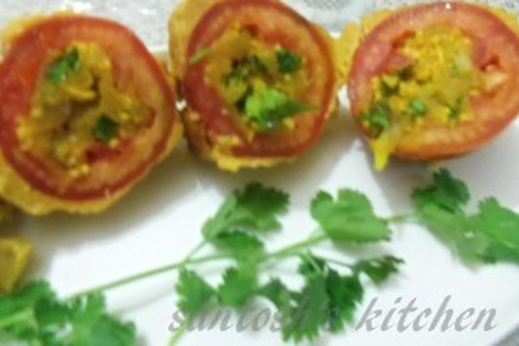 stuffed tomatoes with twist