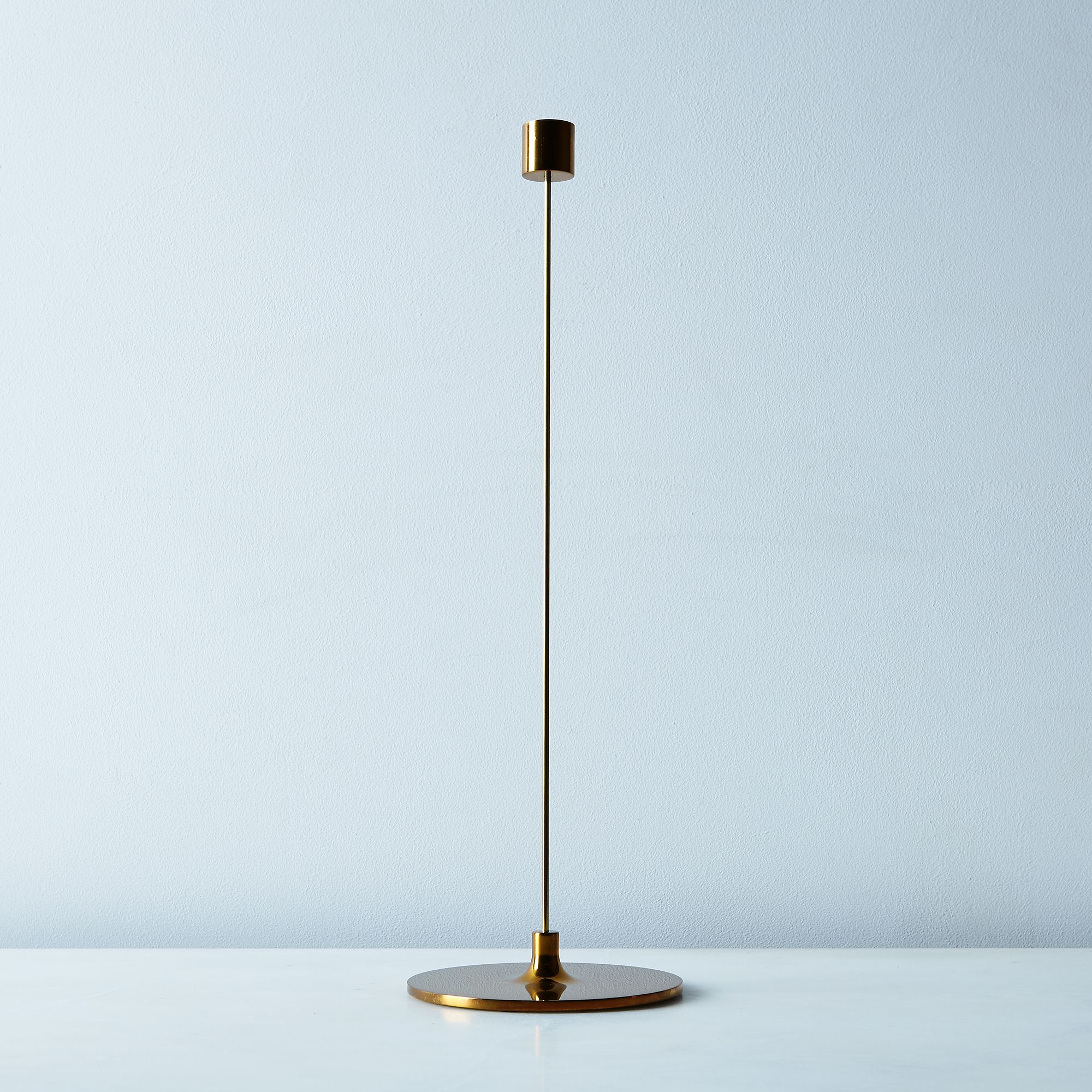 brass pin candleholder on food52