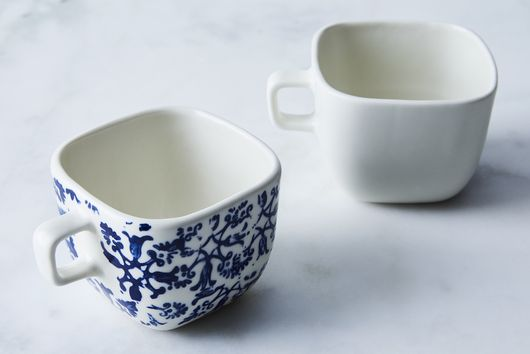 Square Coffee Cup (Set of 2)