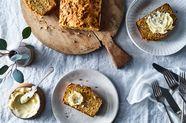 Carrot, Cumin & Gouda Loaf Cake