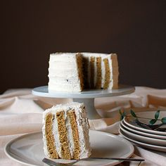 Matcha vertical roll cake with black sesame whipped cream