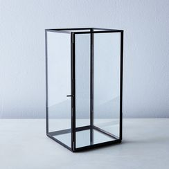 Simple Glass Mirrored Lantern