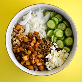 Smoky Beet and Lentil Salad
