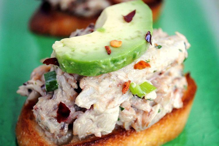 Crabby Snacks w/ Avocado & Bacon