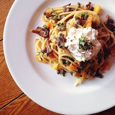 Spaghetti alla Burrata