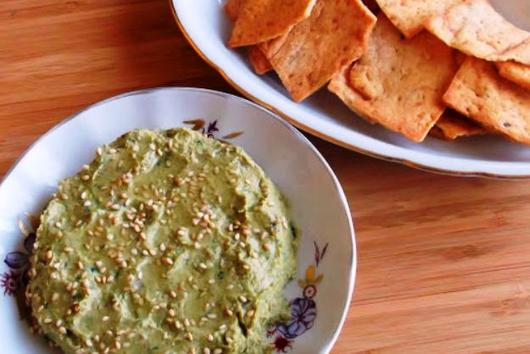 The Absolute Best Homemade Humus with Mustard Greens and Lebni