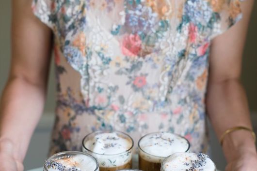 Gin Lavender Latte