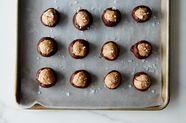 Almond Butter Buckeyes