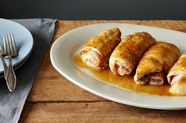 "Chicken Kiev ""Cordon Bleu"" with a Boozy Cider Sauce"