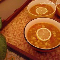 Moroccan Spiced Lamb and Chickpea Soup