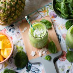 Pina Colada Green Smoothie