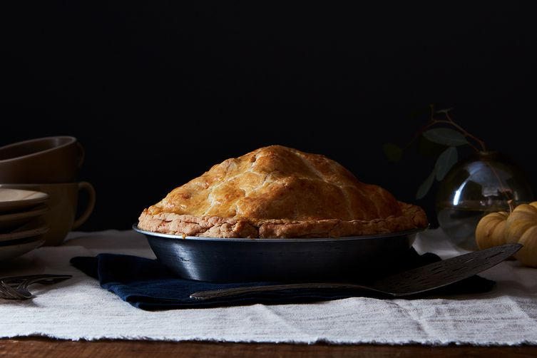 Brown Butter and Cheddar Apple Pie Recipe on Food52