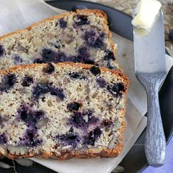 Blueberry Pecan Bread