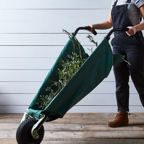 Lightweight Collapsible Wheelbarrow