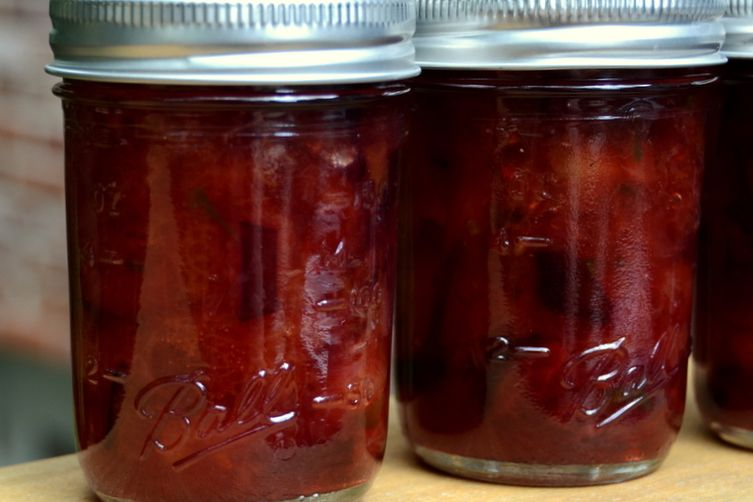 Pepper-Punch Plum Jam
