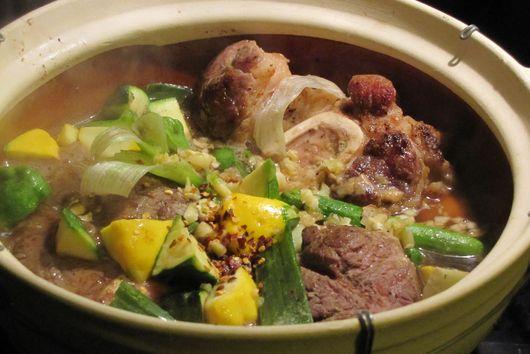 Five Star Anise Patty Pan Squash Leek/Scallion Succulent Beef Shank Pot