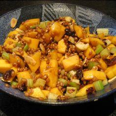 Festive Wheat Berry Salad