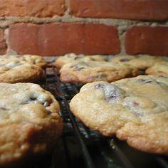Cherry Dark Chocolate Chip Cookies