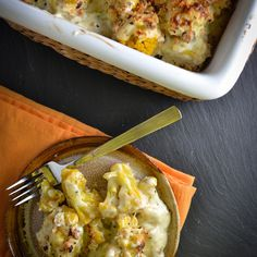 Cauliflower Gratin with Mornay Sauce