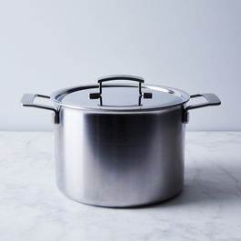 Demeyere Industry 5-Ply Stock Pot, 8QT