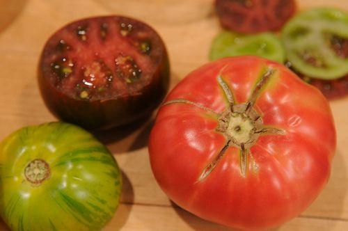 Heirloom Tomato and Lemon Mascarpone Tart Recipe on Food52