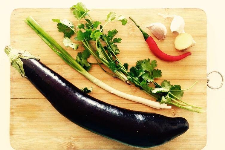 Chinese Eggplant Salad
