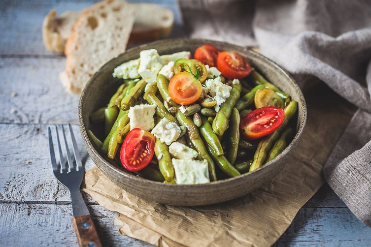 Balsamic Green Beans Salad