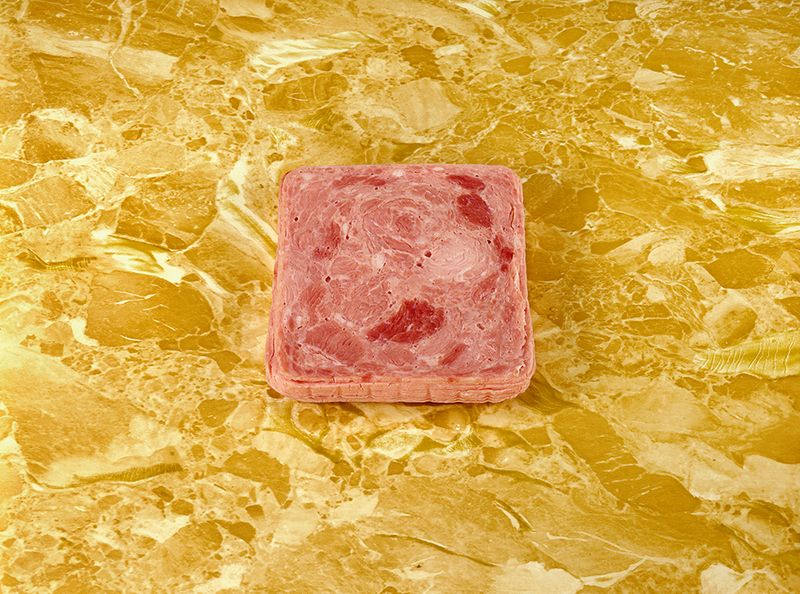 """Luncheon Meat on a Counter"" (1978). Courtesy the artist and Ryan Lee gallery, New York."
