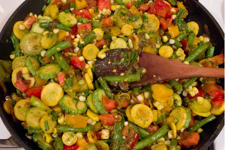 Summer's Sweet Heat Salad