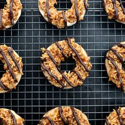 Homemade Samoa-Inspired Cookies