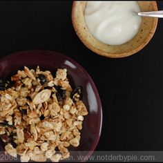 Granola with Tahini