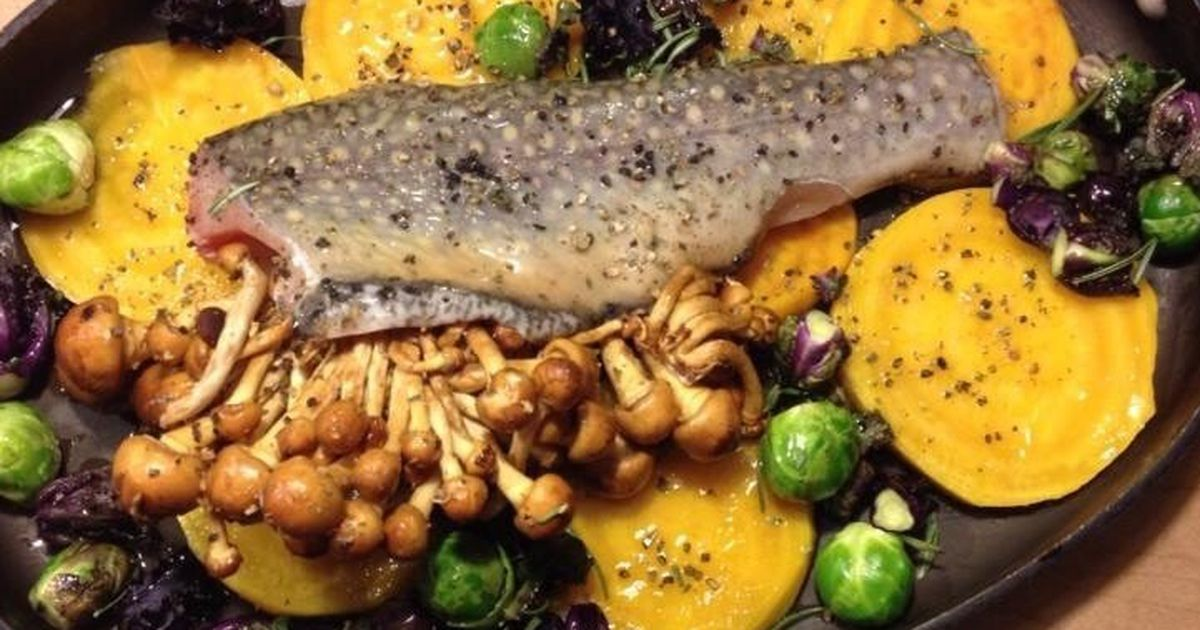 ... Not)Recipes by Food52: golden beet, brussels sprout, mushroom, trout
