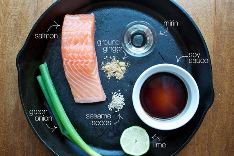 Tangy Teriyaki Salmon