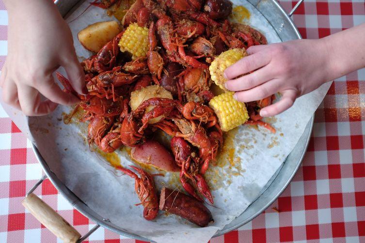Labor Day Crawfish Boil