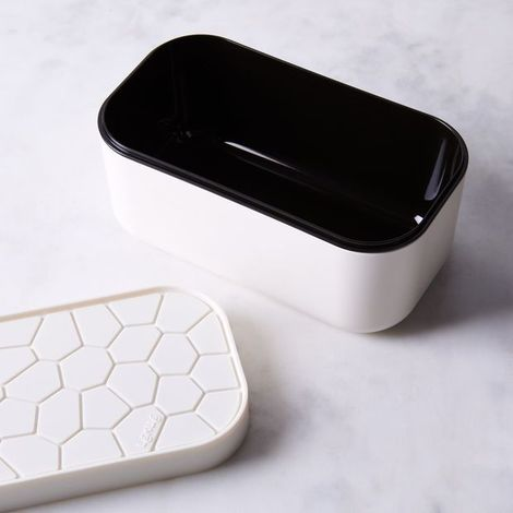 Ice Box with Reversible Lid