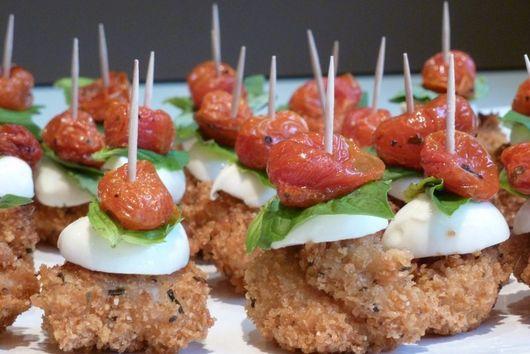 Chicken Caprese Appetizers