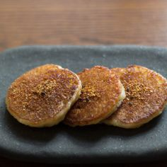 Potato Mochi with Shichimi Togarashi Pepper