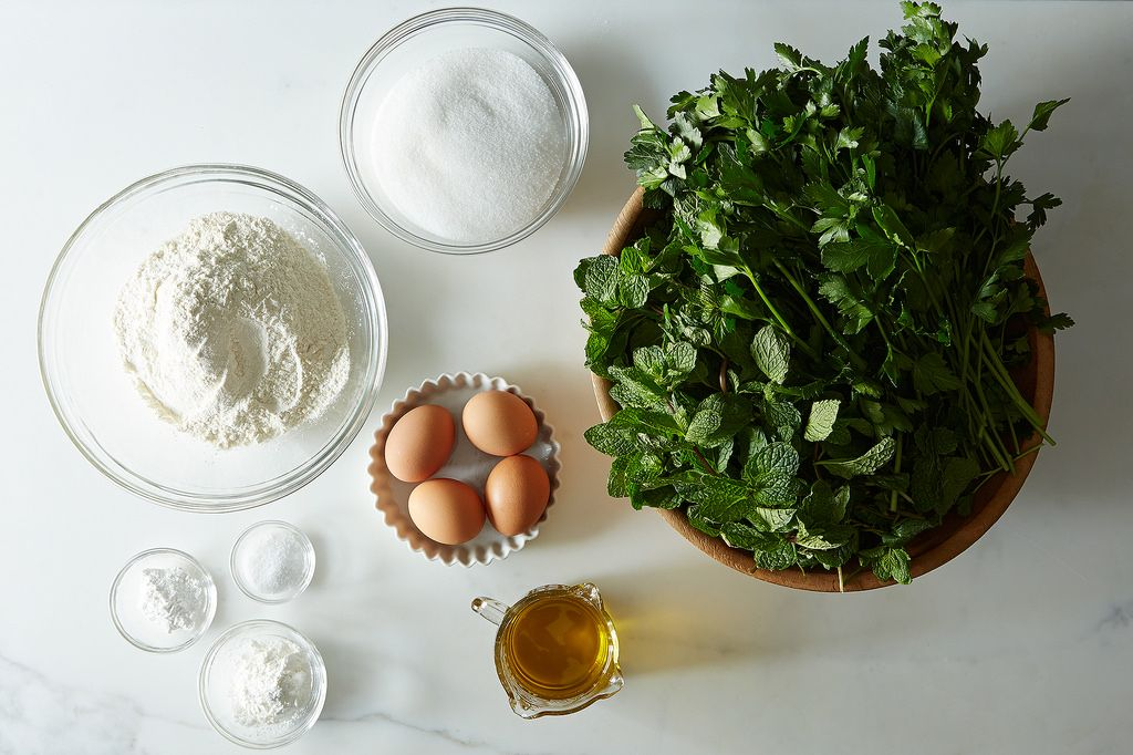 Roberta's Parsley Cake from Food52